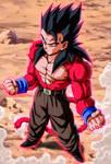 Gohan ssj4 (Manga Dragon ball AF)