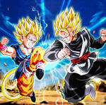 Goku GT vs Goku Black