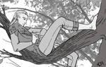 Lounging Legolas (Making An Arrow)