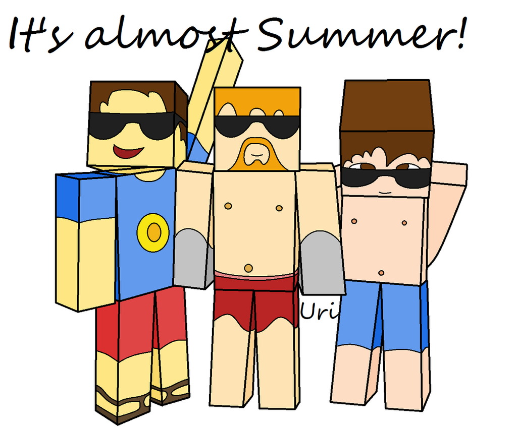 It's almost Summer! by Anhrak