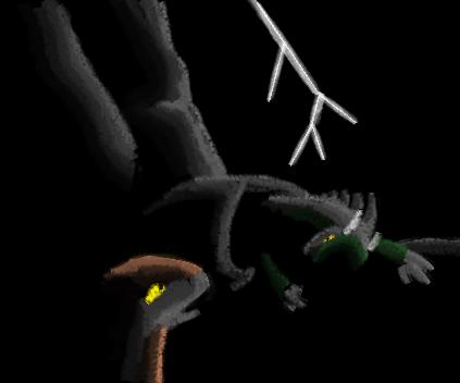 A dark dragon's memories III by Anhrak
