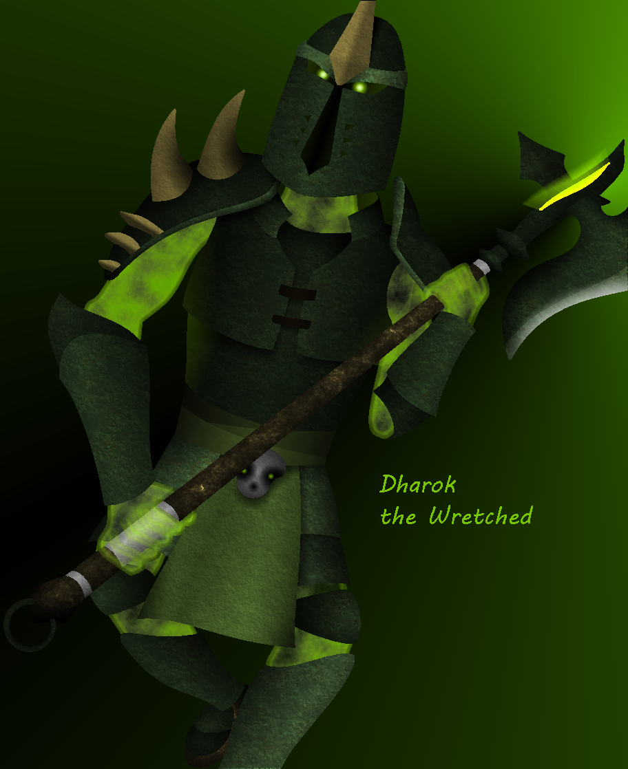 Dharok the Wretched by Anhrak
