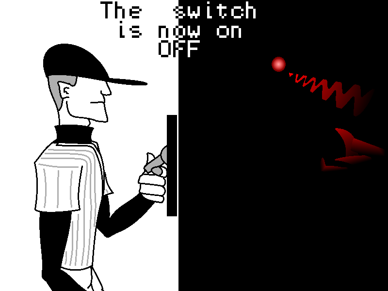 The switch is now OFF by Anhrak