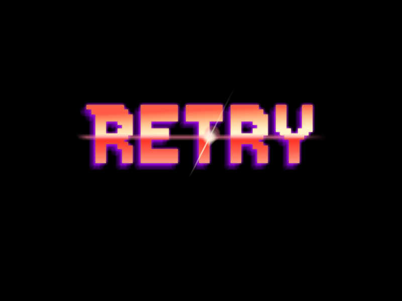 Retry - Logo remake by Anhrak
