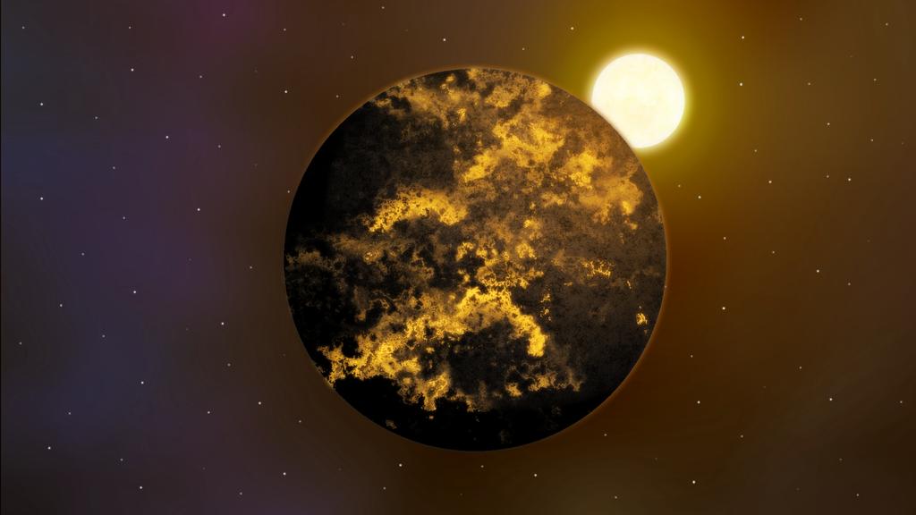 Planet artwork 1 - Maryak by Anhrak