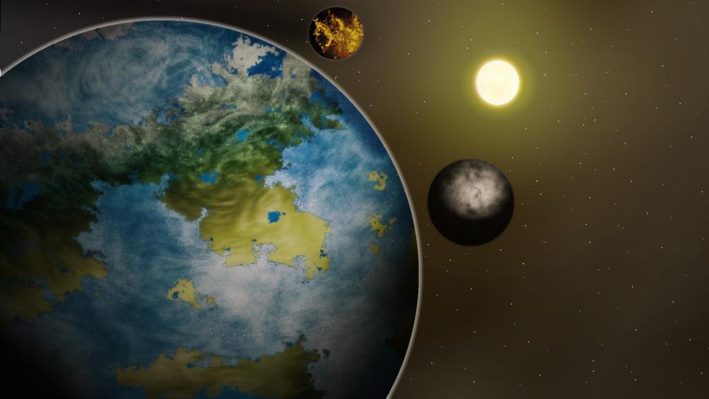 Planet artwork 2 by Anhrak
