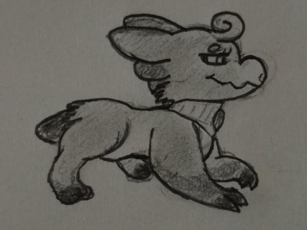 Wyngro - Mora sketch by Anhrak