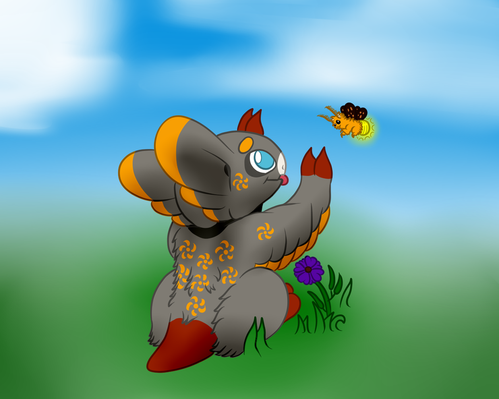Wyngro - At least the bugs are my friends! by Anhrak