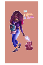 Hermione - Too school for cool by Glanzfell