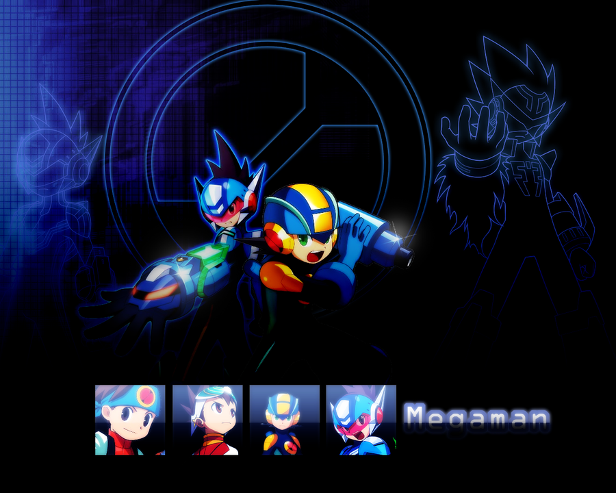 Megaman Background. by Shotomanexe