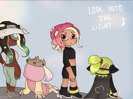 Look into the light Screenshot redraw