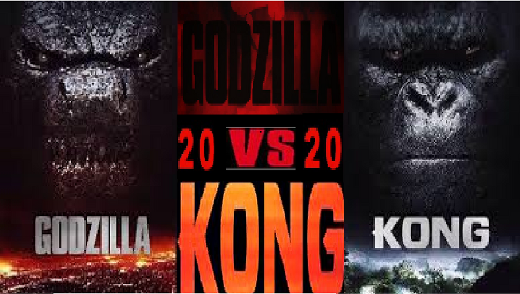 Godzilla V.S. Kong Fanmade Poster by GavinDaRealBro