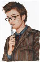 Doctor Who - David Tennant by OzVisual