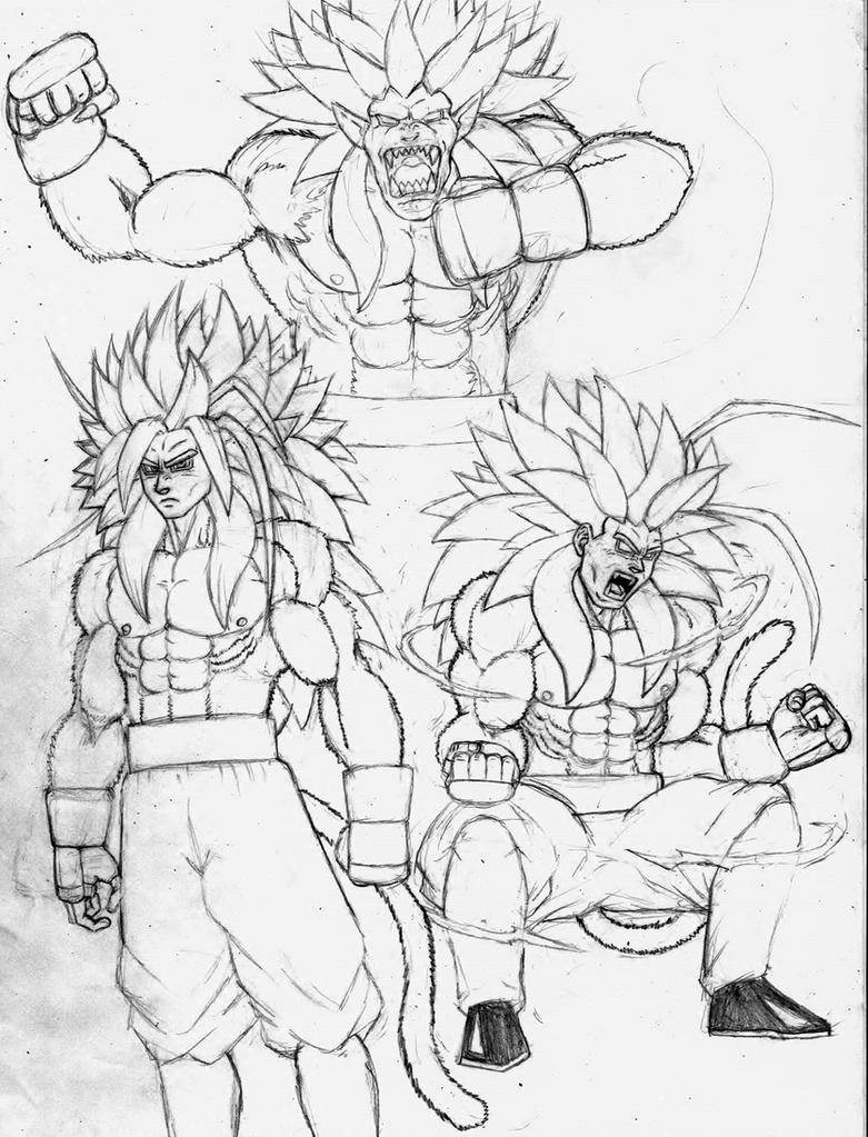 Ssj 5 Goku complete Ascensions by mack901
