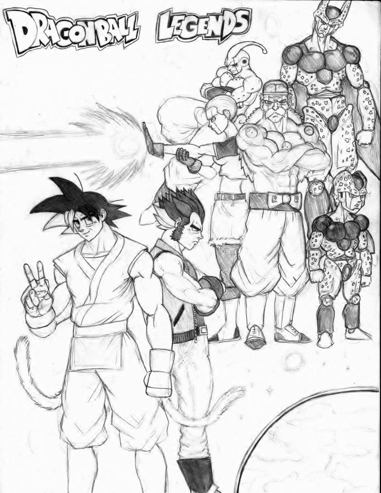 Dragonball Legends Andriods Reborn cover by mack901