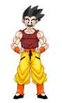 Krillin after Gt by mack901