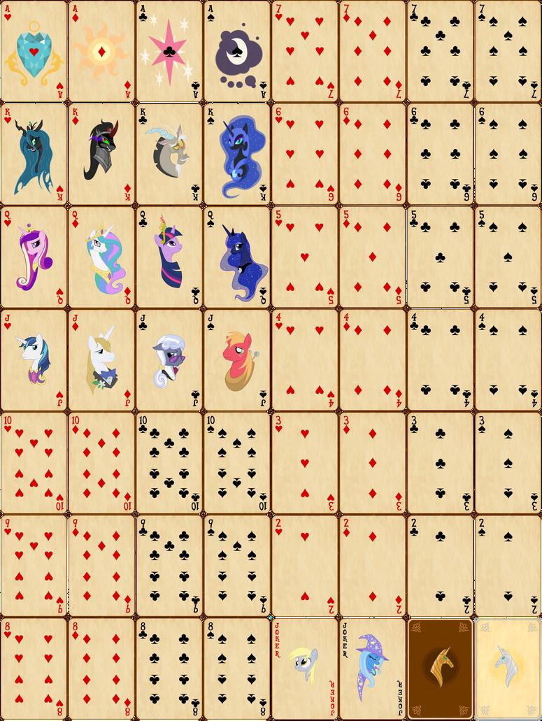 Как сделать карты своими руками 36 штук