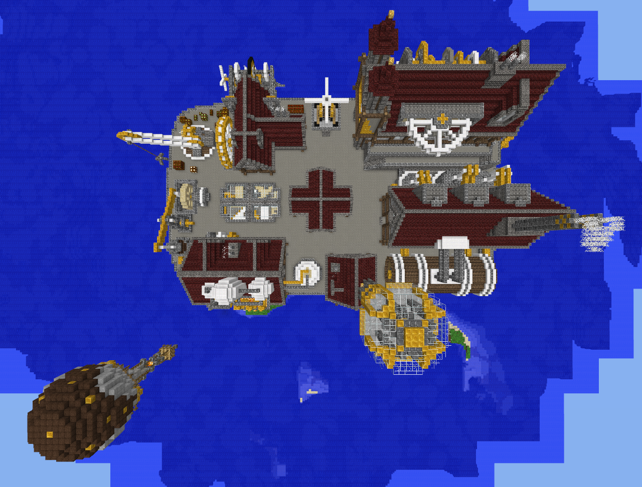 Minecraft - Steampunk City 7 by Virenth on DeviantArt
