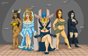Commission: Ladies of Maximo by Cartoonfan402