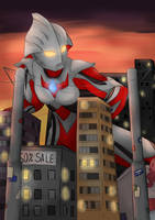 Ultraman Nexus by MarineHaddock