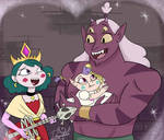 la verdadera familia real de Mewni