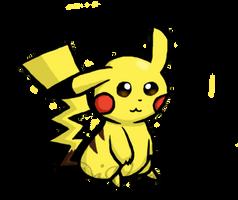 Pikachu Drawing by iVui