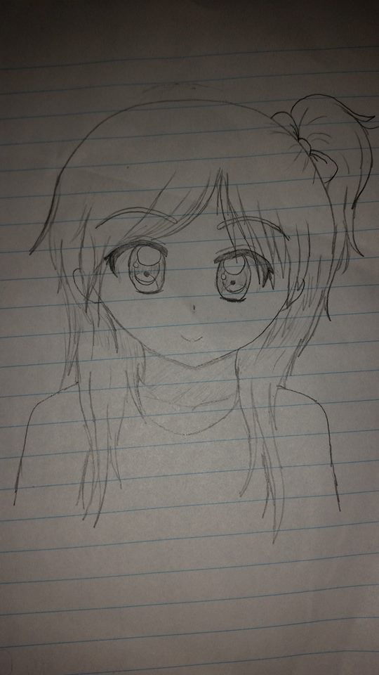 Anime drawing thingy by iVui