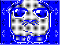 Blue Kitty by WritingArtist14