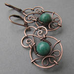 Copper and amazonite