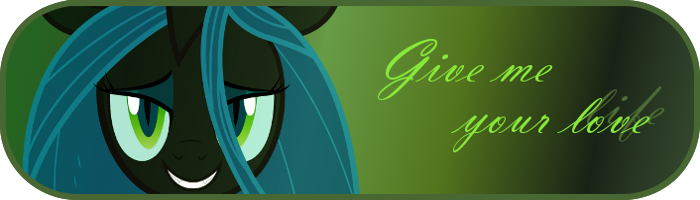Queen Chrysalis Signature by TheHaribokid