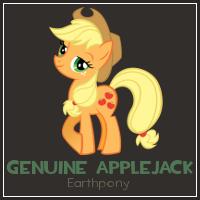 Genuine Applejack by TheHaribokid