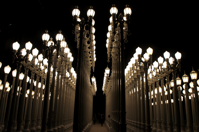 LACMA Urban Lights By Linnieepoo ...