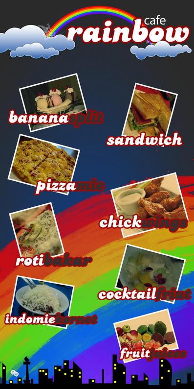 menu for rara