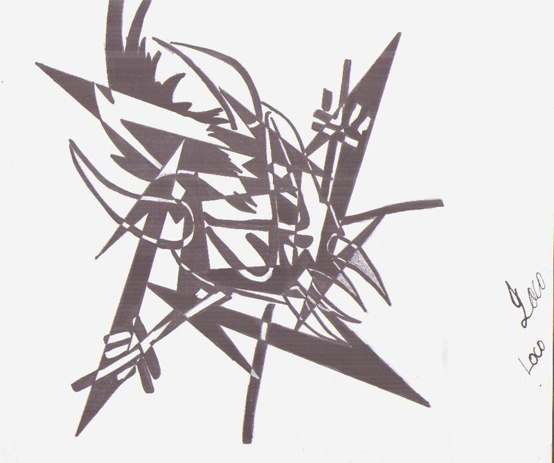 how to draw metallica ninja star