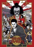 The Last Dragon Movie Poster by agliarept