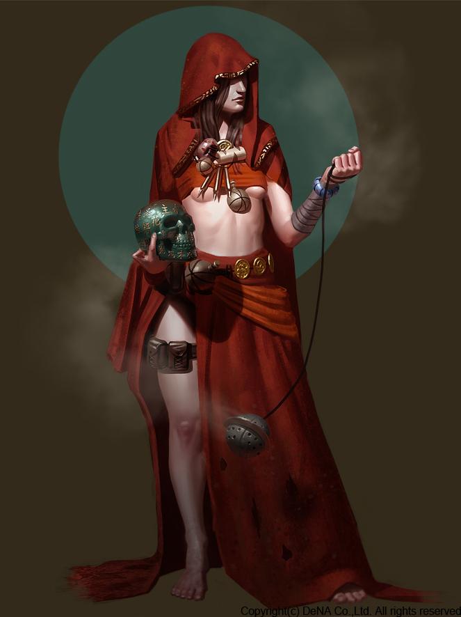 Priestess by Thorsten-Denk