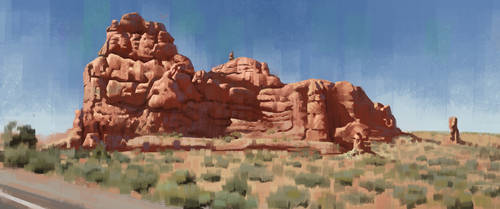 Arches National Park (study) by Thorsten-Denk