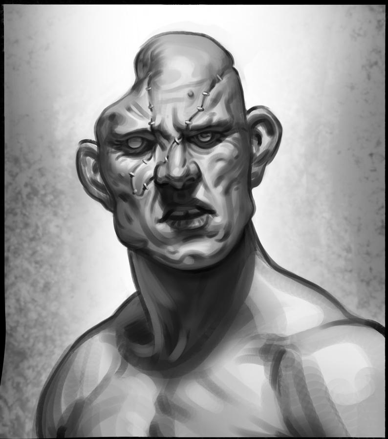 Sketch - Brute by Thorsten-Denk