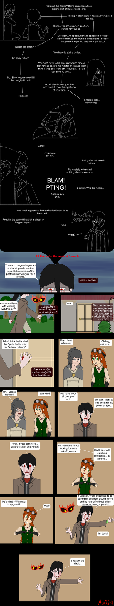 TSI OCT SE 'Lies and Mistrust' pg 1 by Aus224