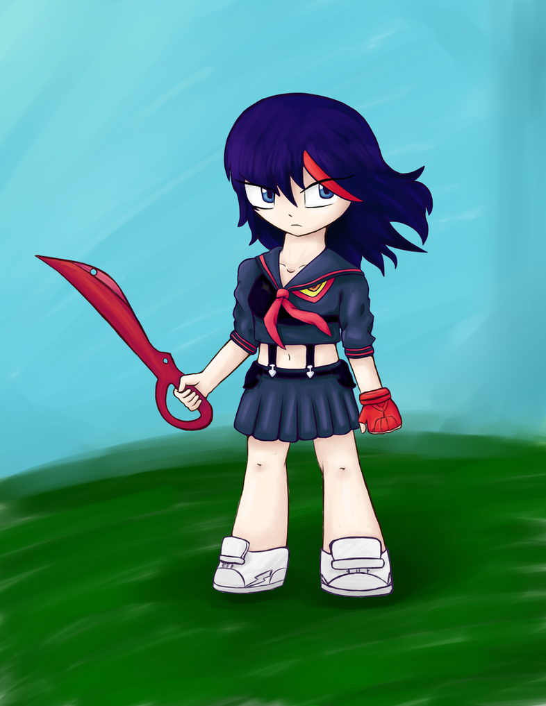 Ryuko by Kittygirl12345678