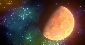 Alien Planet Spacescape