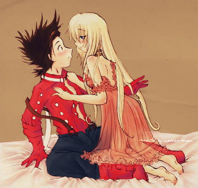 Tales Of Symphonia Lloyd And Colette
