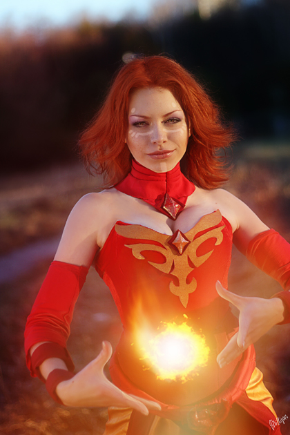 Dota 2 Lina - Play with fire by MilliganVick