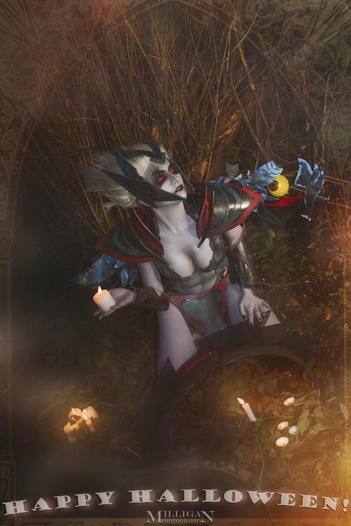 DotA 2 - Halloween - Vengeful Spirit by MilliganVick