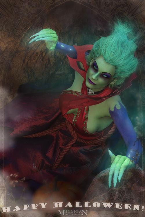DotA 2 - Halloween - Death Prophet by MilliganVick