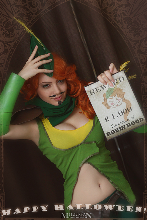 DotA 2 - Halloween - Windrunner the Hood by MilliganVick