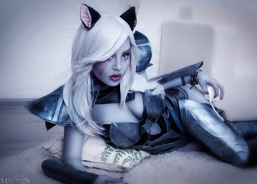 DotA 2 - Drow Ranger - Kitty Cat by MilliganVick