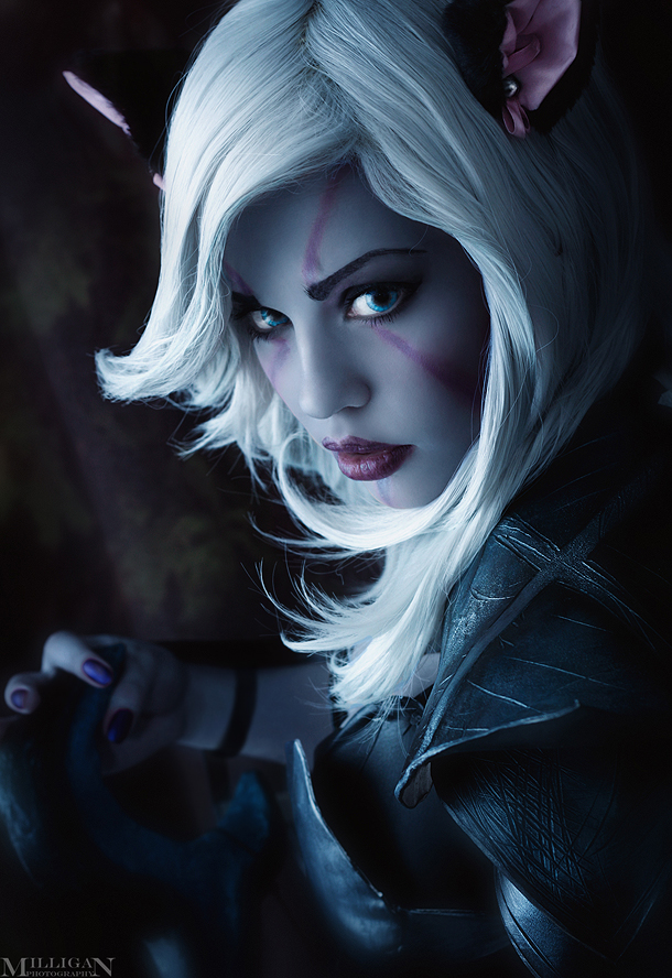 DotA 2 - Drow Ranger - Kitty by MilliganVick