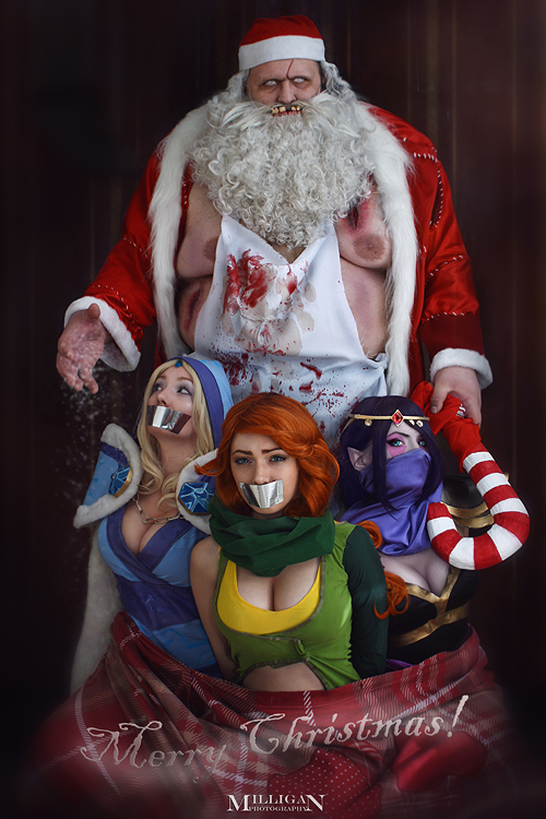 DotA 2 - Christmas - I brought the presents by MilliganVick