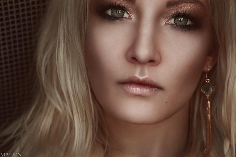 Anastasia - green eyes by MilliganVick